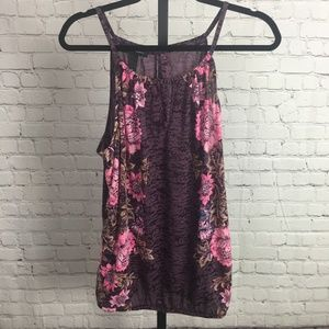 INC International Concepts Sparkly Tank Top, NWT